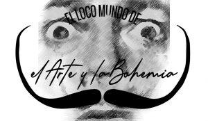 Imagen corporativa de Arte y Bohemia con dibujo Dalí y bigote