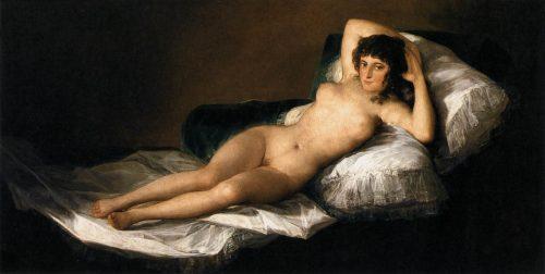 Goya- La Maja desnuda