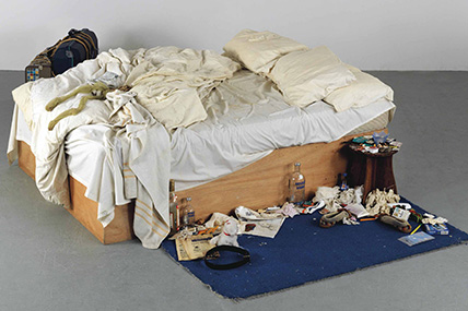 Sensation 1997: Tracy Emin-Mi cama, my bed