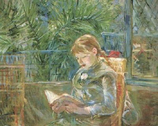Impresionismo-Berthe Morisot-Niña leyendo