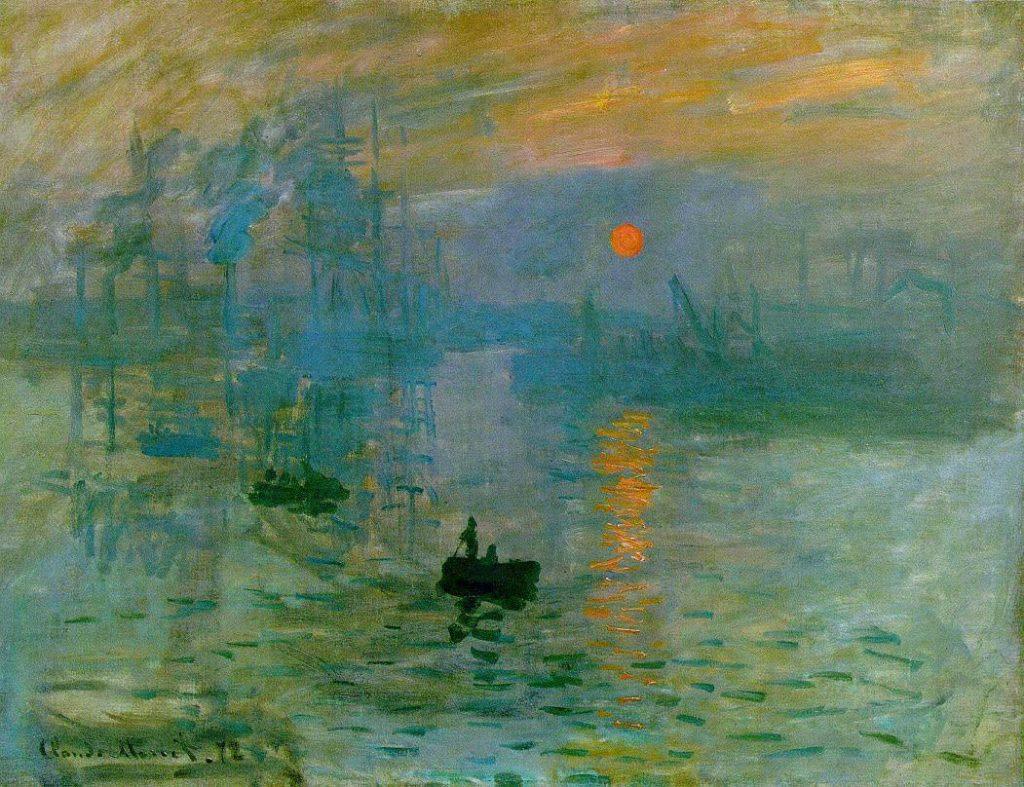 Impresionismo-Claude Monet-Impresión, salida del sol- Impresión, sol naciente