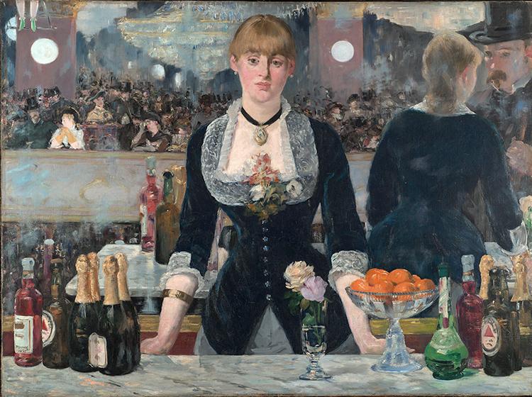 Impresionismo-Edouard Manet-En el bar de Folies Bergere