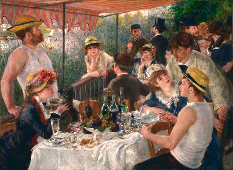 Impresionismo-Pierre-Auguste Renoir-El desayuno