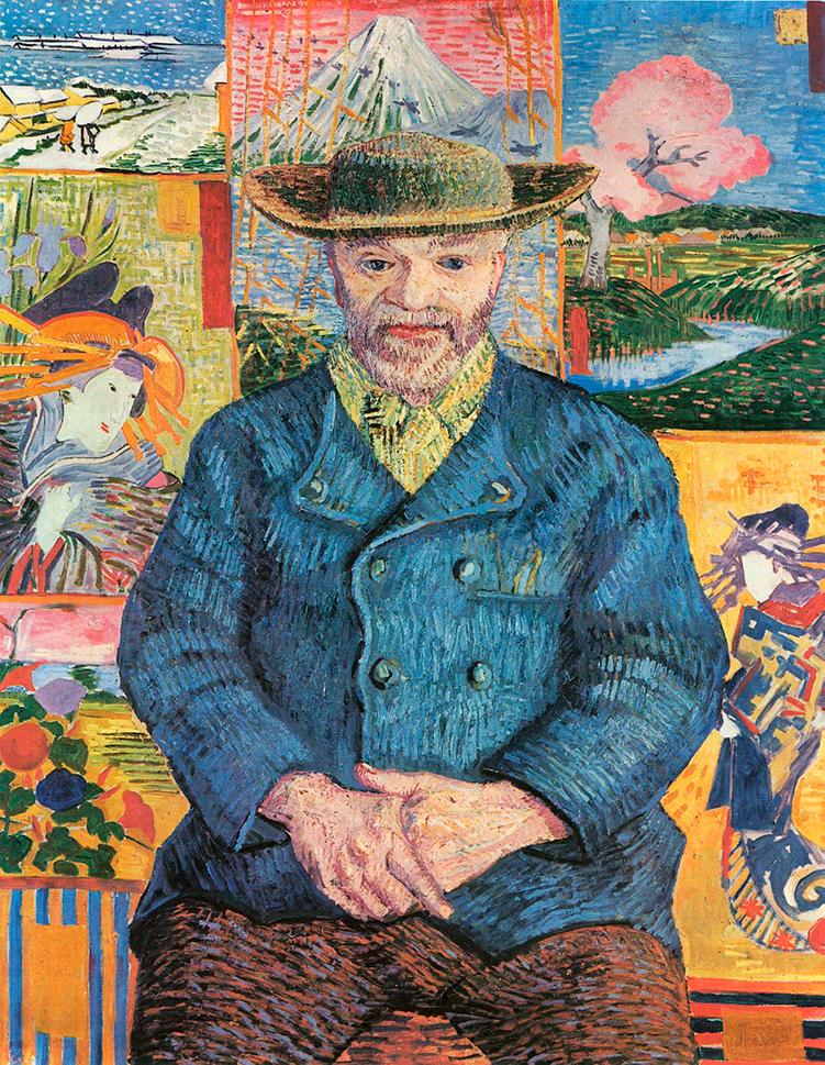 Van Gogh-Julien Tanguy-Pére Tanguy