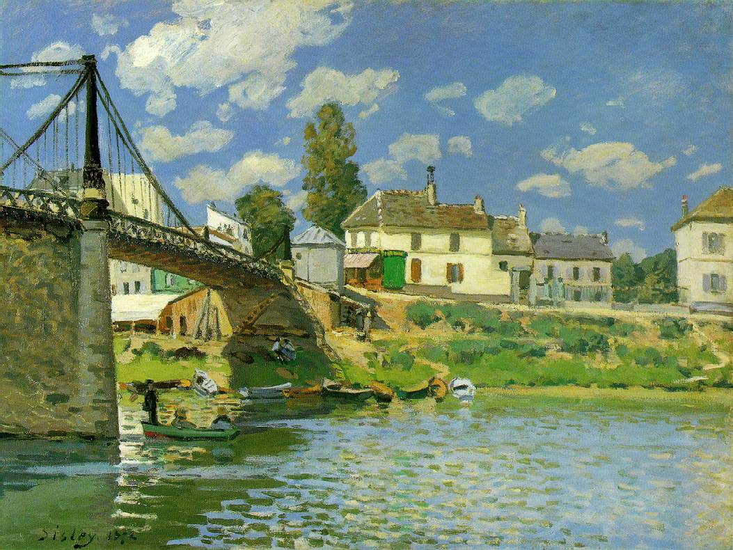 Impresionismo-Alfred Sisley-Puente