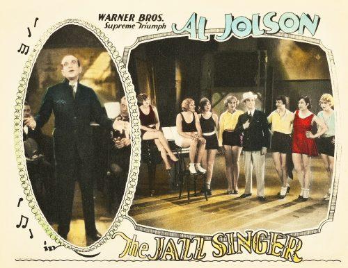 Cartel película El Cantor de Jazz de 1927