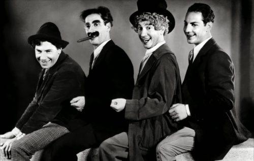 Hermanos Marx- Groucho-Harpo-Chico y Zeppo