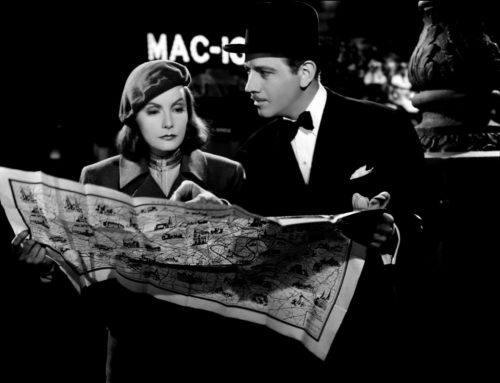 Ninotchka de Lubitsch con Greta Garbo y Melvyn Douglas