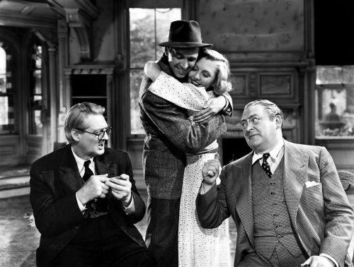 Película Vive como quieras- Frank Capra- con James Stewart y Jean Arthur