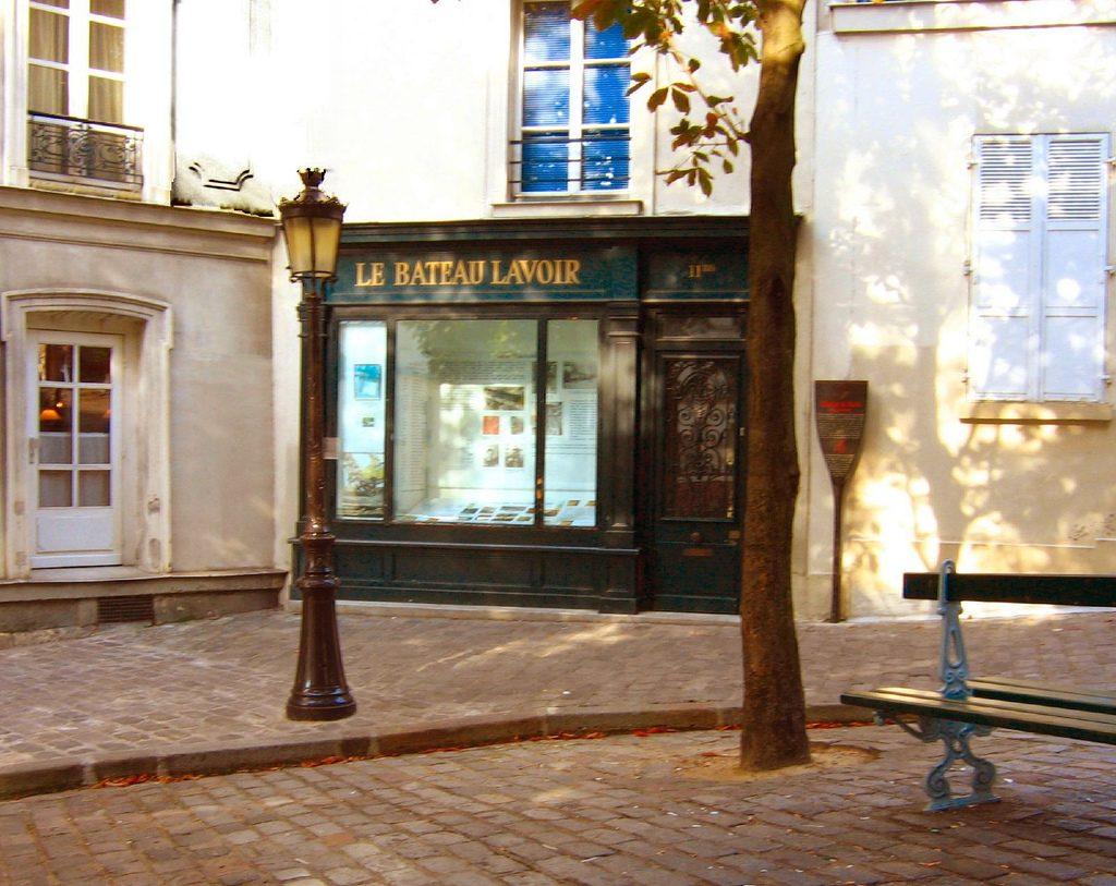Foto Le Bateau Lavoir en la actualidad, París