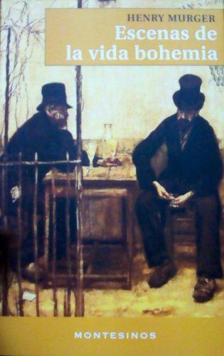 Portada libro Escenas de la vida bohemia de Henry Murger