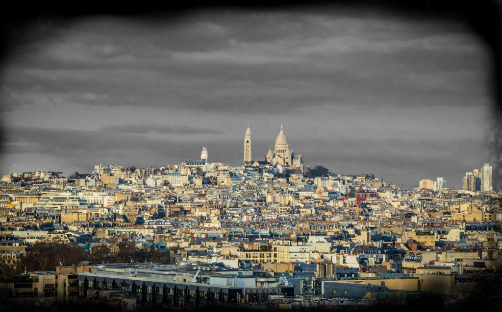 Foto Vista aérea París Montmartre