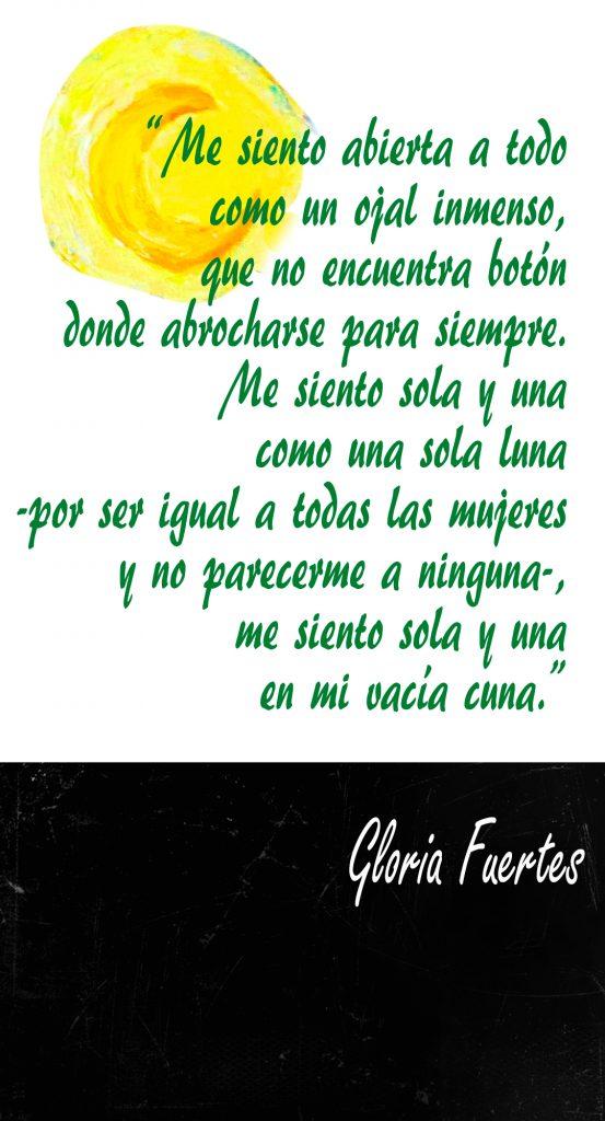 Poema Gloria Fuertes Me siento