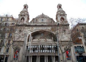 Cine Coliseum en Barcelona. 1923