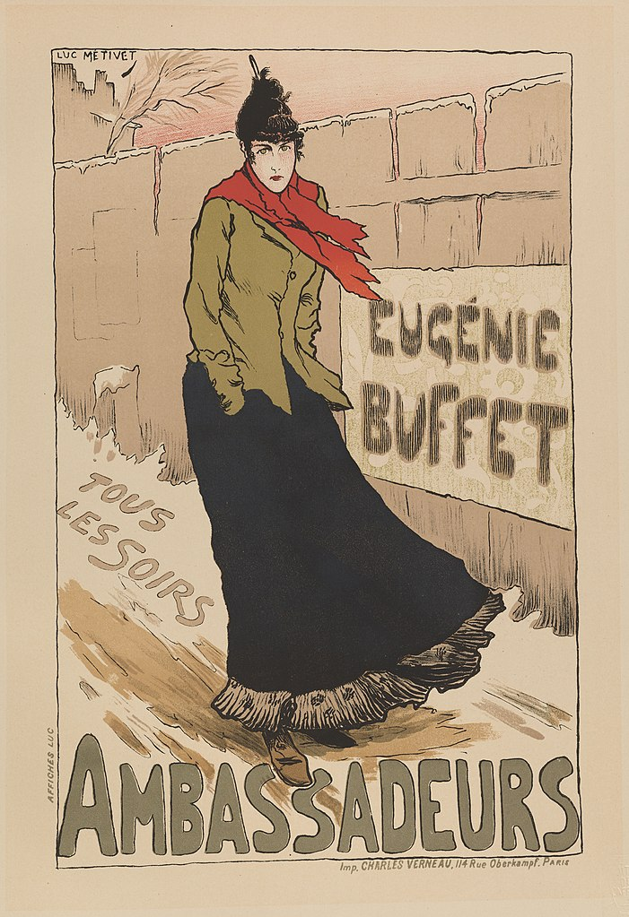 Eugenie Buffet. Bailarina Mouline Rouge