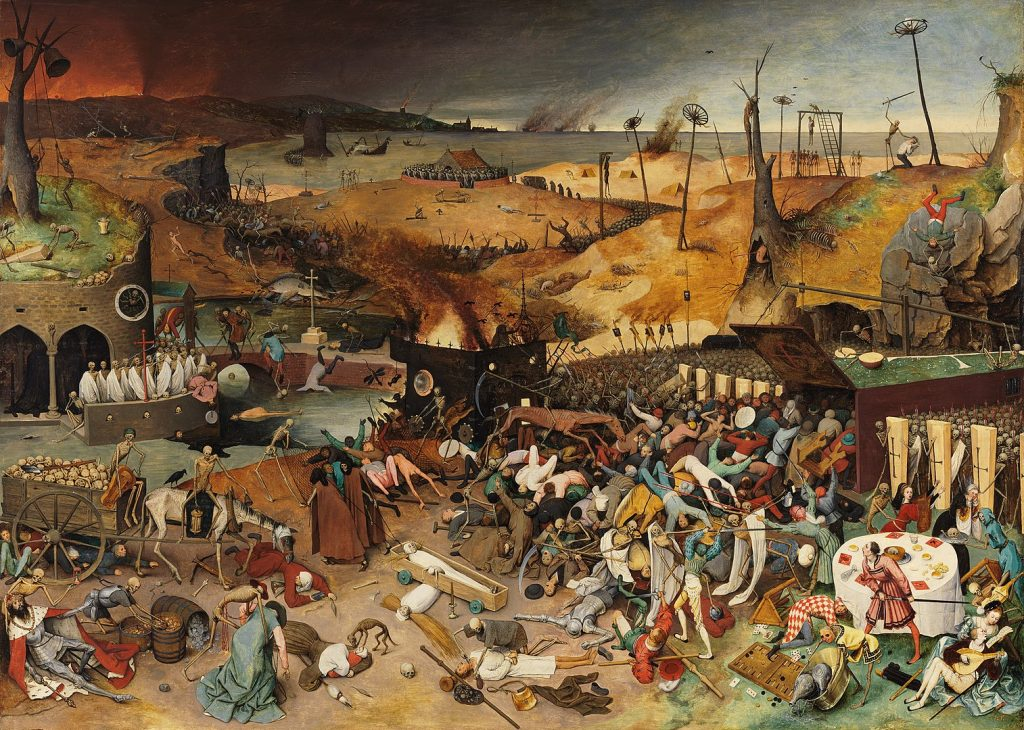 El Triunfo de la Muerte por Pieter Brueghel el Viejo. 1562