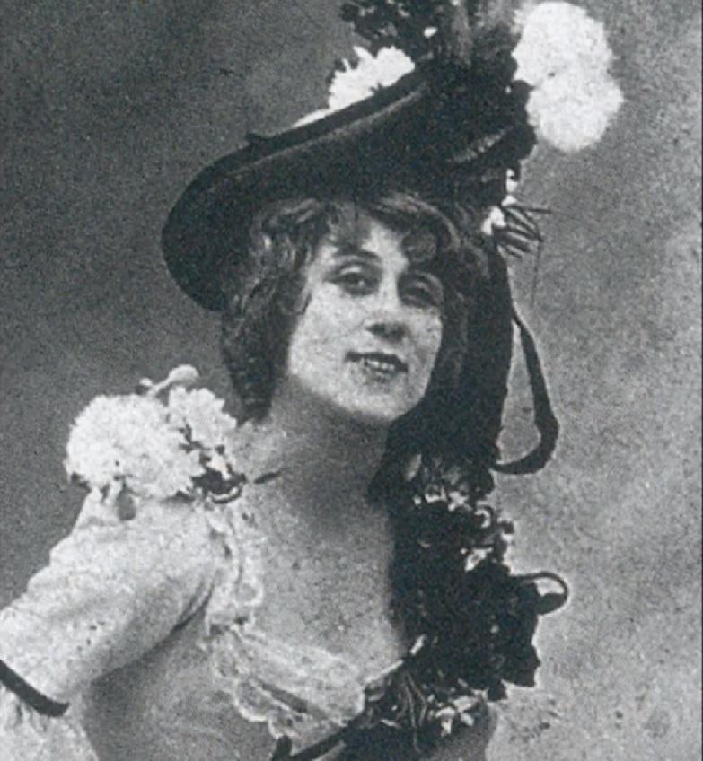 Jane Avril, bailarina del Moulin Rouge. Musa de Toulouse Lautrec. Bohemia de París
