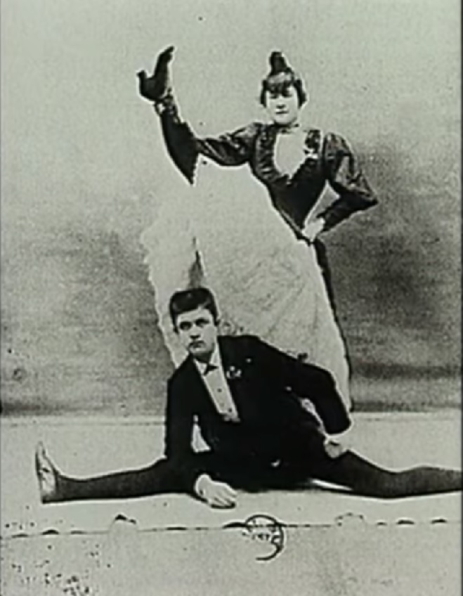 La Goulue y Valentin Le Désossé - el deshuesado. Musa de Toulouse Lautrec. Bailarina de Montmartre. La Bohemia de París
