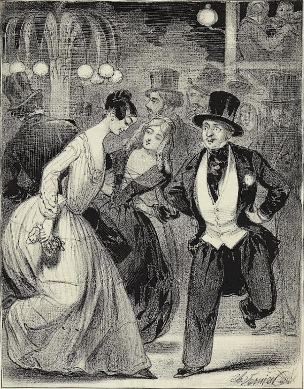 La Reine Pomaré. Élise Sergent. La reina de la polka. Bailarina de El Bal Mabille. Bohemia en Montmartre
