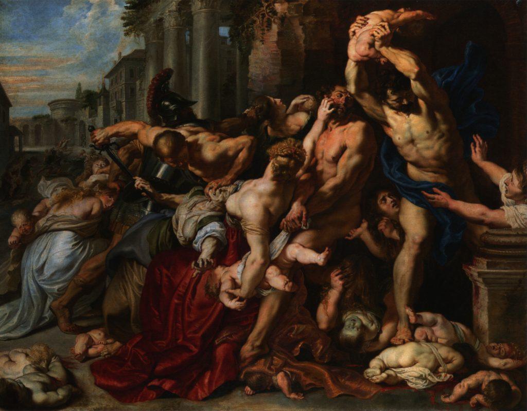 La Matanza de los Inocentes de Peter Paul Rubens. 1611. Barroco