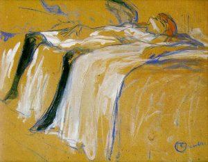 Sola. Serie Elles. Toulouse Lautrec. 1986
