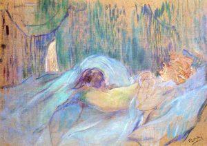 Burdel Rues des Moulins. Serie Elles. Toulouse Lautrec