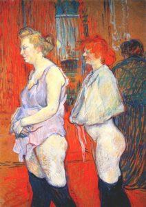 Toulouse Lautrec. Inspección médica