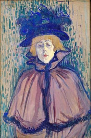 Jean Avril por Toulouse Lautrec