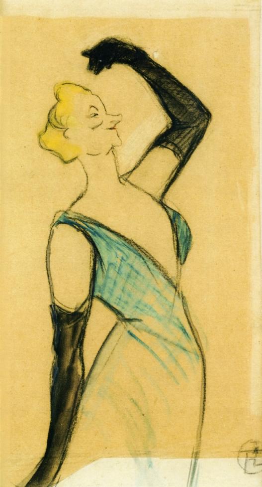 Yvette Guilbert. Toulouse Lautrec, 1893