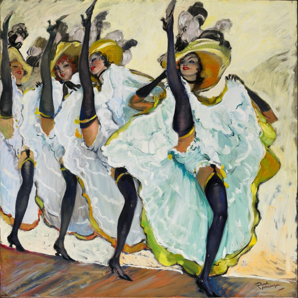 Le French Can-Can J.G. Domergue-1889