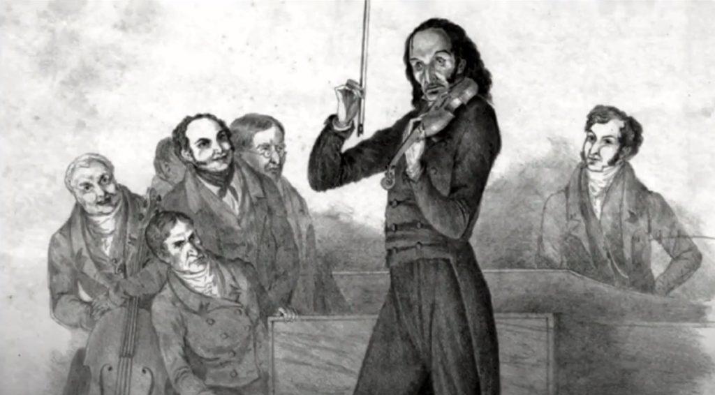 Paganini escuchado por otros músicos