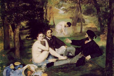 Almuerzo sobre la hierba, 1863. Edouard Manet