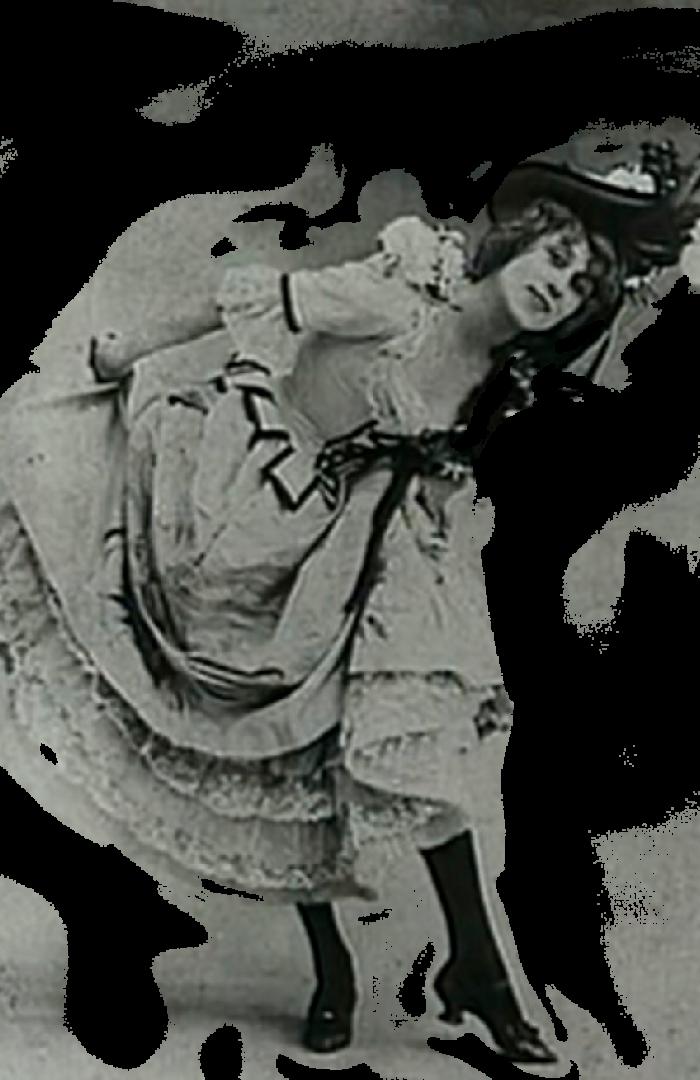 Jean Avril, bailarina del Moulin Rouge. Musa de Toulouse Lautrec